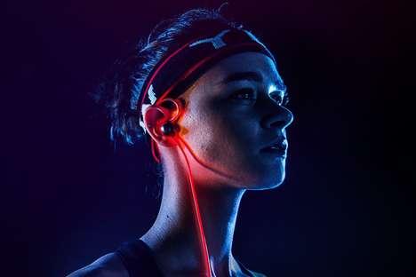 Chromatic LED-Equipped Headphones