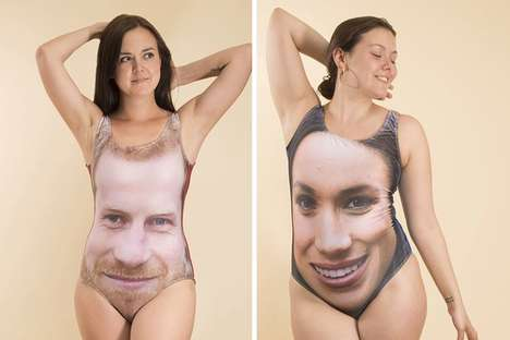 Royal Couple Swimsuits