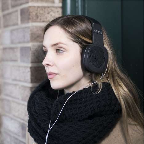 High-Quality Aluminum Headphones