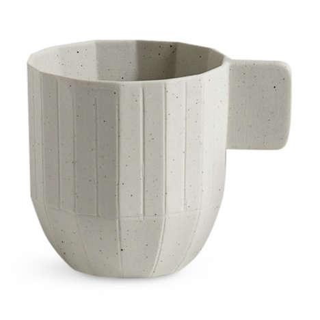 Origami Porcelain Drinking Mugs