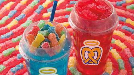 Candy-Topped Lemonades