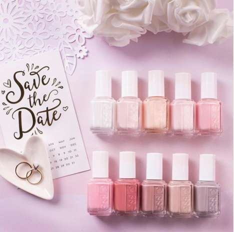 Bride-Inspired Nail Polishes