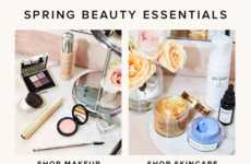Expansive eCommerce Beauty Sections - Revolve Beauty Boasts an Impressive Beauty Product Inventory