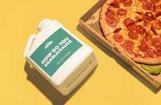 Garlic Sauce Publicity Stunts - Papa John's is Offering Gallon Garlic Sauce Jugs to Customers