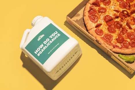 Garlic Sauce Publicity Stunts