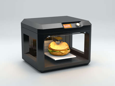 Veggie Burger Printers - The Chef-It Machine Simultaneously Prints and Cooks Burgers On Demand