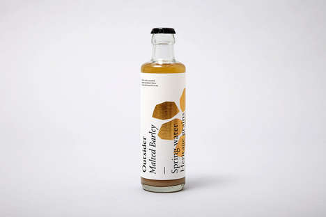 Botanical Non-Alcoholic Beverages - Outsider Ferments, Distills & Presses Botanicals for Its Drinks