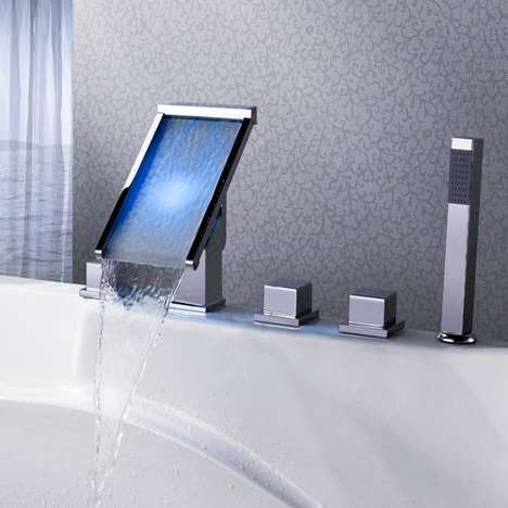 LED Waterfall Faucets