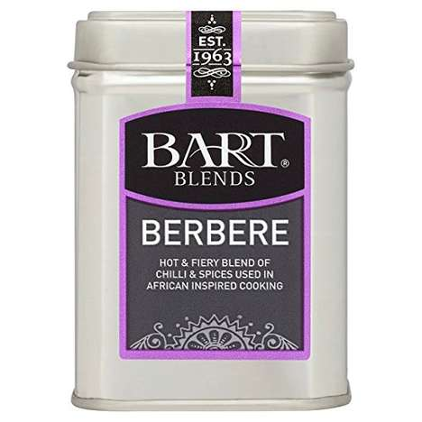 Artisanal Ethiopian Seasonings - Bart Blends' Berbere Seasoning Contains a Chili and Spice Blend