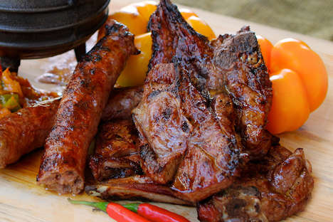 South African Barbecue Menus - Chef Pozi Offers Authentic Shisa Nyama Meat Dishes