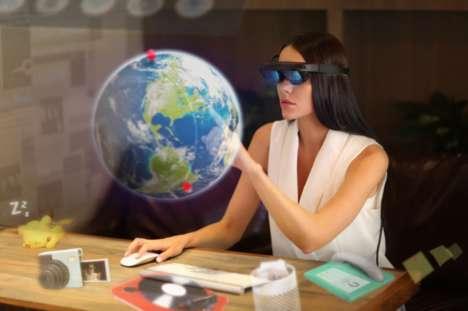Compact Lightweight AR Glasses