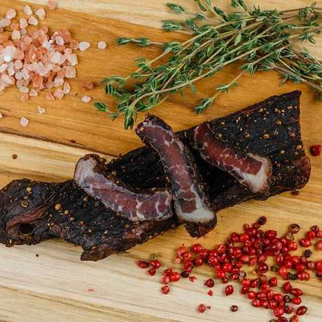 Authentic Biltong Jerky Snacks - Bokkie's Biltong Offers Traditional Snacks Native to South Africa