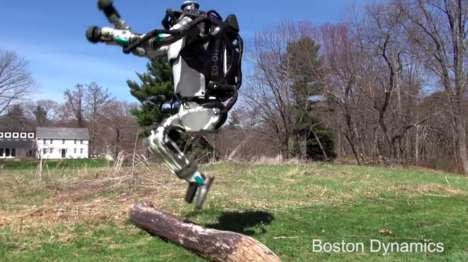 "Agile Humanoid Robots - Boston Dynamics' Atlas is Touted as ""The World's Most Dynamic Humanoid"""