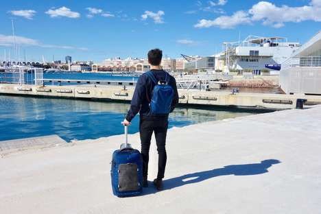 Hybrid Minimalist Luggage Backpacks