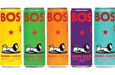 Flavorful Canned Rooibos Teas - BOS Iced Tea Comes in Five Ready-to-Drink Flavors