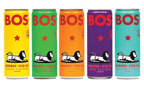 Flavorful Canned Rooibos Teas