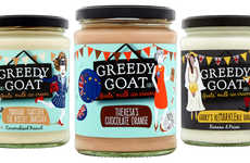 Glass Jar-Packaged Ice Creams