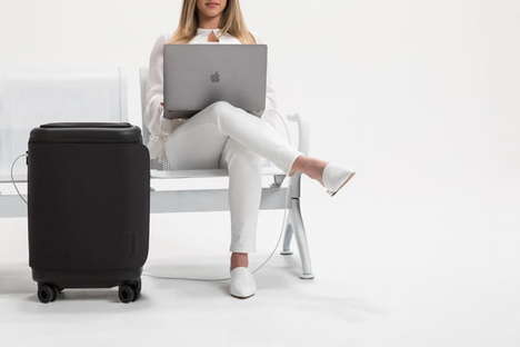 Device-Charging Smart Luggage