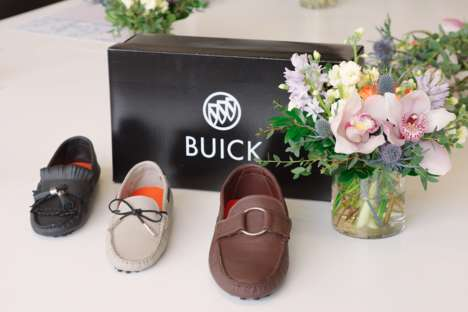 Custom Luxury Driving Shoes - Individuals Can Order a Pair of Their Own #BuickStyle Driving Shoes