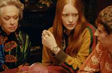 Psychic-Inspired Luxury Campaigns - Gucci Boasts Its New Timepieces & Jewelry in a Mystical Campaign