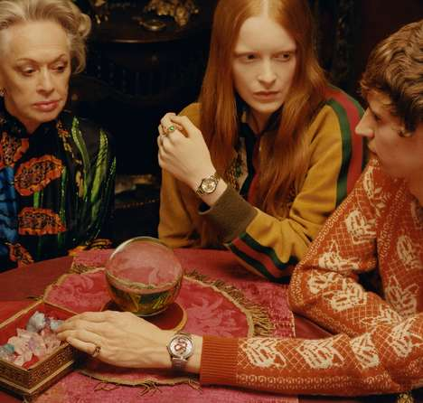 Psychic-Inspired Luxury Campaigns