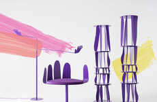 Absurdist Purple Furniture Collection