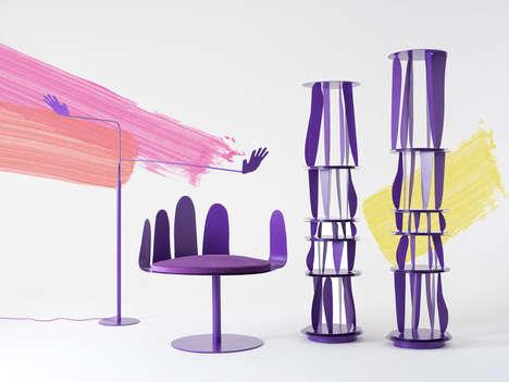 Absurdist Purple Furniture Collection