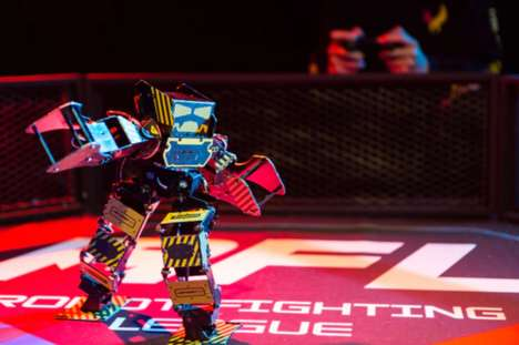 Powerful Humanoid Battle Toys - 'Super Anthony' is a Champion Fighting Robot
