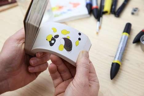 Optical Illusion Coloring Books