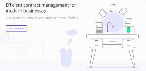 Efficient Contract-Management Platforms