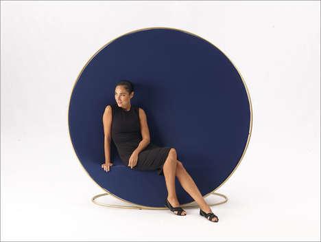 Illusionary Room Divider Seats