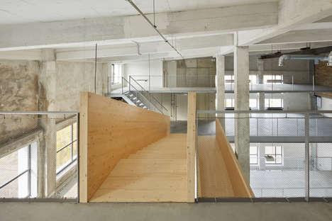 Wood-Reinforced Industrial Buildings
