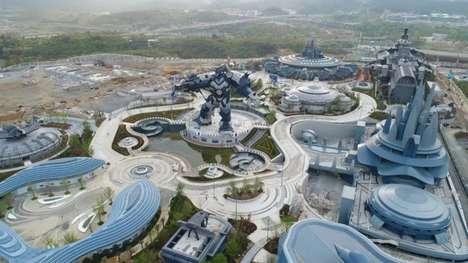 Virtual Reality Theme Parks