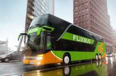 On-Demand Interstate Bus Services - The FlixBus Service Incorporates Elements of Uber and Lyft