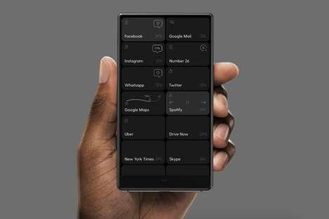 Minimalist Anti-Distraction Smartphones