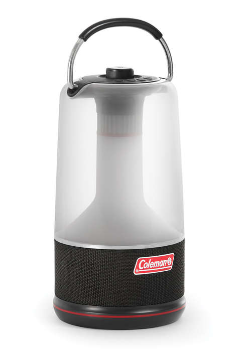 Sound-Emitting Camping Lanterns