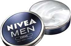 Multipurpose Masculine Moisturizers - The NIVEA Men Creme Offers a No-Nonsense Cosmetic for Guys