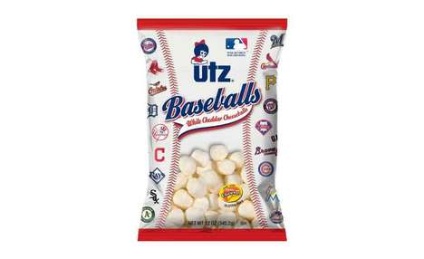Branded Baseball Snacks