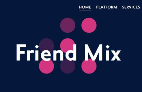 Social Circle Playlists - Audiogum's Friend Mix is a Convenient Way to Create Playlists with Friends