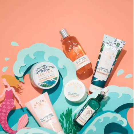 Sea-Inspired Skin Collections