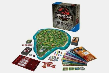 Adventurous Dinosaur Franchise Games