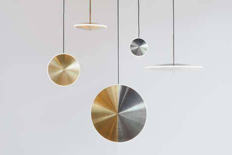 Celestial Pendant Lamps - Graypants Launches a Collection That Features Mesmerizing Starry Lights
