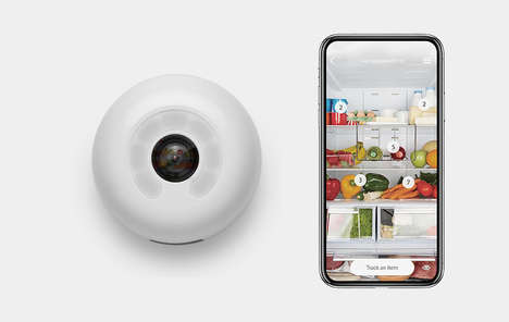 Fridge-Upgrading Cameras - The Smarter Fridge Cam Can be Placed Inside Any Kitchen Fridge