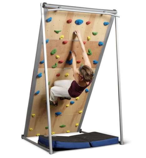 Home-Sized Rock Climbing Walls