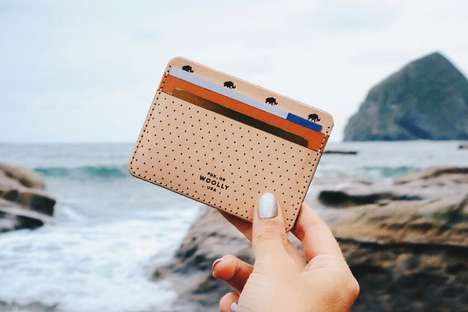 Wallet Customization Services - The WoollyLab Half Wallet Can be Personalized to Your Liking
