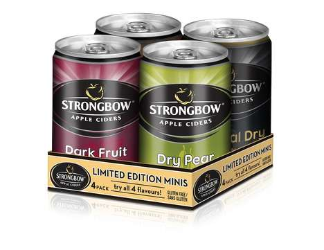 Canned Cider Summer Packs