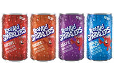Reduced Sugar Sparkling Juices - Kool-Aid Sparklers Contain 11 Grams of Sugar Per Serving