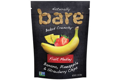 Limited-Edition Fruit Chips - Bare Snacks' Newest Product Combines Three Kinds of Baked Fruit