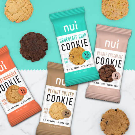 Keto-Friendly Cookies - Nui Foods' Gluten-Free Cookies are Low in Sugar and Carbs
