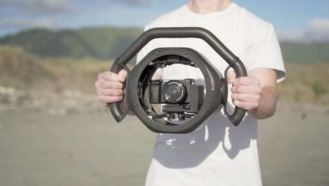 Lightweight Handheld Gimbals - The 'Arculus Onyx' Uses Carbon Fiber and Titanium Components